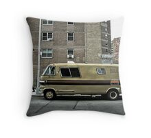 New Yorker Van Throw Pillow