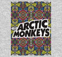 Arctic Monkeys - Trippy Pattern Kids Tee