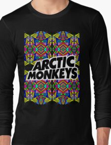 Arctic Monkeys - Trippy Pattern Long Sleeve T-Shirt