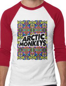 Arctic Monkeys - Trippy Pattern Men's Baseball ¾ T-Shirt
