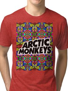 Arctic Monkeys - Trippy Pattern Tri-blend T-Shirt