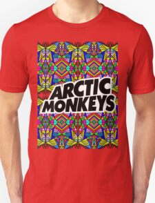 Arctic Monkeys - Trippy Pattern Unisex T-Shirt