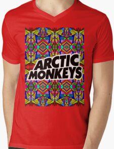 Arctic Monkeys - Trippy Pattern Mens V-Neck T-Shirt