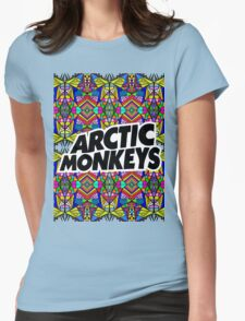 Arctic Monkeys - Trippy Pattern Womens Fitted T-Shirt