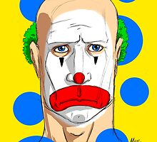 Sad Clown - Colour by Michael Lee