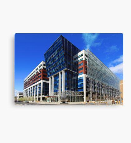 Sirius Building, Woden Canvas Print