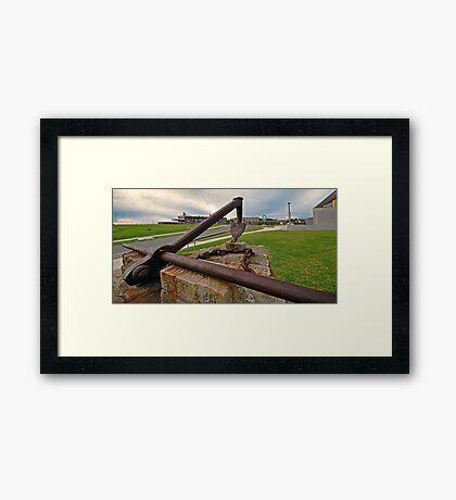 Anchors Aweigh Framed Print