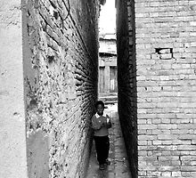 walking the alleyways by SRana