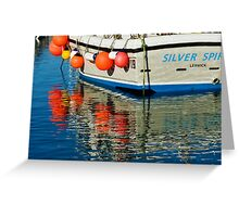 Silver Spirit ~ Lyme Regis Greeting Card