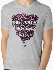 Obstinate Headstrong Girl Mens V-Neck T-Shirt