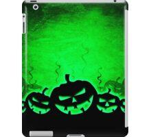 Green and Black Jack O' Lantern Print iPad Case/Skin