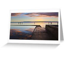 Tidal Pool, Edithburgh South Australia Greeting Card