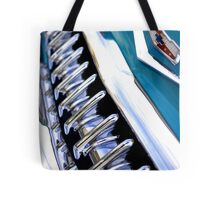 Custom Chevy grin Tote Bag