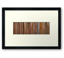 Moviebarcode: The Royal Tenenbaums (2001) Framed Print