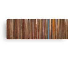 Moviebarcode: The Royal Tenenbaums (2001) Canvas Print