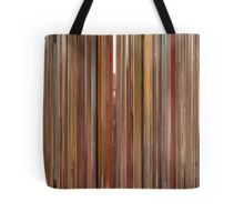 Moviebarcode: The Royal Tenenbaums (2001) Tote Bag