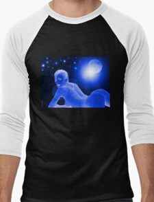 Blue Moon Men's Baseball ¾ T-Shirt