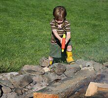 Junior Fire Fighter!!! by KDskier