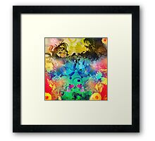 Abstract figure design 2 Framed Print