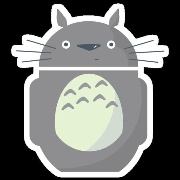 My Neighbor Totoroid by Karen  Hallion