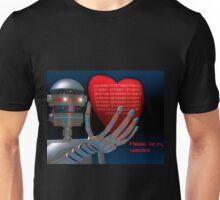 Be My Valentine Robot Unisex T-Shirt
