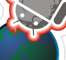 Aster-Droid Sticker