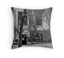 Tree House NYC Throw Pillow