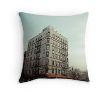 New York Street Corner Throw Pillow