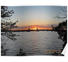 Hanover Street Bridge Sunset #120 Poster