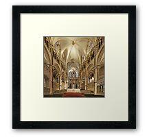 Altar, Canterbury Cathedral, Kent, England Framed Print