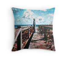 'The Distance Not Expressed' Throw Pillow