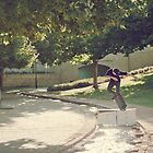 Barry Mansfield, bs nose blunt slide. by Luke Carl Thompson