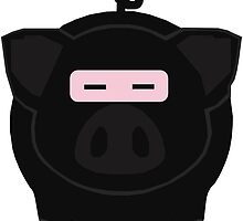 Ninja Porker by GamerPiggy