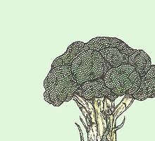 Broccoli by SerenSketches