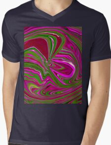 Pink And Green Wormhole T-Shirt
