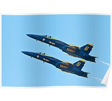 United States Navy Blue Angels Poster