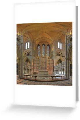 Altar - Truro Cathedral by Bob Culshaw
