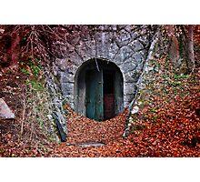 Mysterious Door... Photographic Print