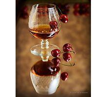 Cherry Brandy Photographic Print