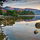 November sunrise over Derwentwater by Shaun Whiteman