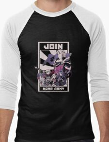 Join Nohr!  Men's Baseball ¾ T-Shirt