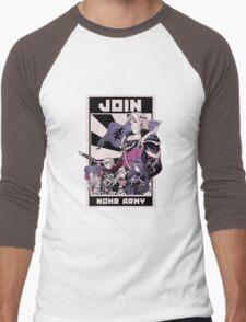Join Nohr!  Men's Baseball ¾ T-Shirt