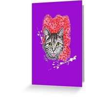 The Finnish Cat Greeting Card