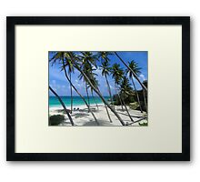 Bottom Bay Barbados Framed Print