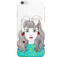 Ladybird Girl iPhone Case/Skin