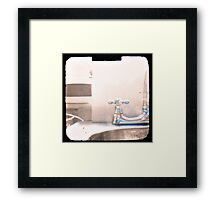 Kitchen Sink Drama Framed Print