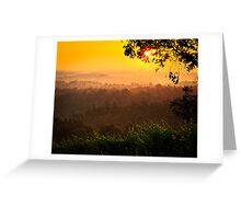 San Gimignano Hills #2 Greeting Card