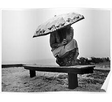 White Sky-Rainy Days Are Fun Too! Poster