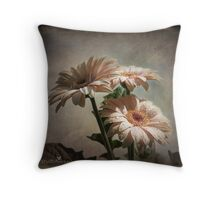 Dramatic floral Throw Pillow
