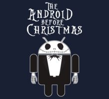 The Android Before Christmas  Kids Tee